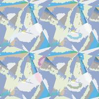 Abstraktes nahtloses Muster Geometrischer Formularaquarellhintergrund