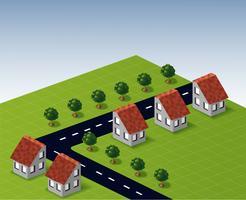 Häuser vektor