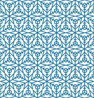 Snowflake kakel mönster Vinter ferie prydnad Geometrisk konsistens