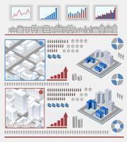 Element för infografiska vektor