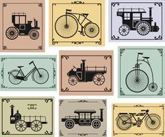 Fahrräder und Autos