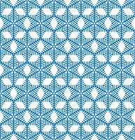 Schneeflockenfliesenmuster Winterurlaubverzierung Geometrische Beschaffenheit