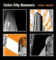 Stadt Banner vektor