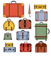 Retro resväskor