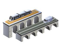 Brücke vektor