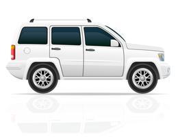 bil jeep off road suv vektor illustration