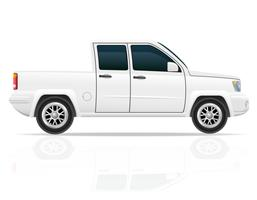 Auto-Pick-up-Vektor-Illustration