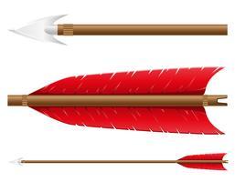 pil för båge vektor illustration