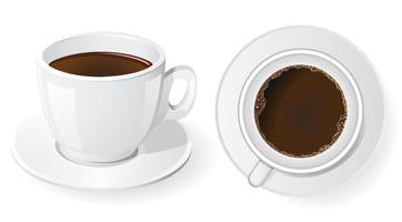 Tassen Kaffee vektor