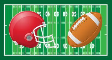 amerikansk fotboll vektor