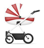 Kinderwagenvorrat-Vektorillustration vektor