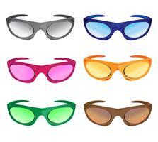 viele farben sonnenbrillen
