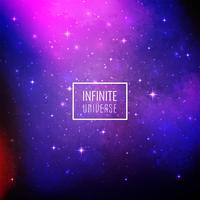 Abstrakter Galaxieplatzhintergrund