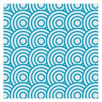 Blaues wiederholtes Musterdesign für alle vektor