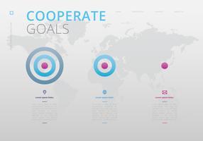 Företagsmål Infographic