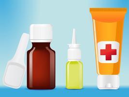 medizinische flaschen