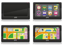 GPS-Navigator-Vektor-Illustration vektor