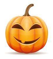 Halloween-Kürbis-Vektor-Illustration vektor