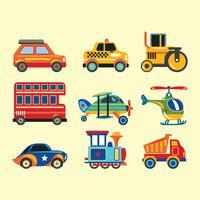Satz von Fahrzeugen vektor