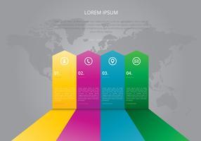 Samarbeta mål Infographic. Team Work Infographic.