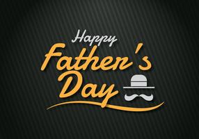 Glückliche Vatertagsgrüße vektor