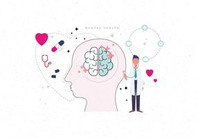 Geistige Gesundheit Vektor