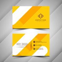 Abstrakt elegant visitkort färgrikt design vektor