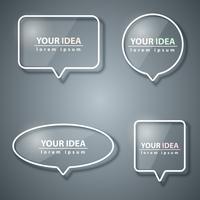 Speech bubbles icon. Dialogrutan info. vektor