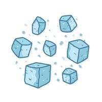 Eiswürfel Clipart Vektor