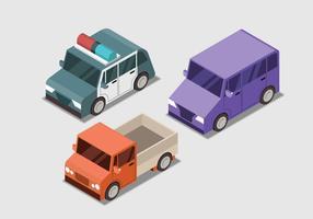 Isometrischer Transport-gesetzte Vektor