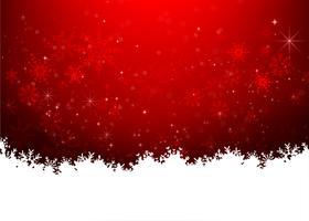 Weihnachtsschneeflocke und Sternenlichtzusammenfassung bakcground vector Illustration eps10 0022