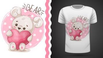 Nette Birne - Idee für Druckt-shirt