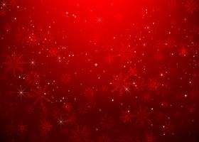 Jul snöflinga och starlight abstrakt bakcground vektor illustration eps10 0023