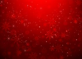 Weihnachtsschneeflocke und Sternenlichtzusammenfassung bakcground vector Illustration eps10 0023