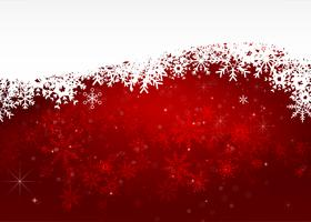 Weihnachtsschneeflocke und Sternenlichtzusammenfassung bakcground vector Illustration eps10 0021