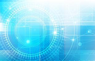 Abstrakter blauer Hintergrund mit niedriger Polyart der grundlegenden Geometrieform und Ligting-Effektvektor ENV 10 005 vektor