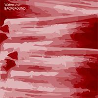 röd akvarell abstrakt konsistens bakgrund, vektor och illustration