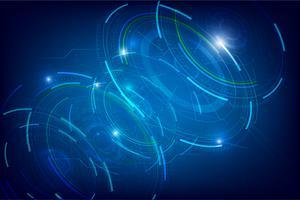 Abstrakter HUD-Technologiehintergrund 002