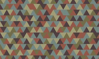 niedriges Polygon und geometrischer Hintergrund in Vintage und Retro-Stil