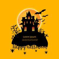 Halloween-Tag-Hintergrund