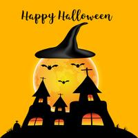 Halloween dag bakgrund vektor