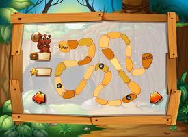 Puzzle-Spiel mit Dschungel-Thema