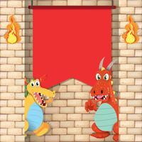 Dragons med den röda banderollen
