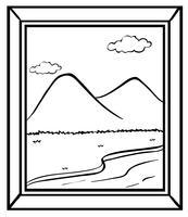 Bild ram vektor