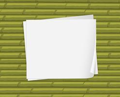 Leere weiße Papiere