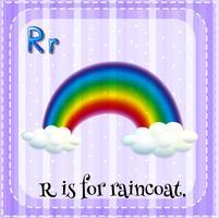 Buchstabe R vektor