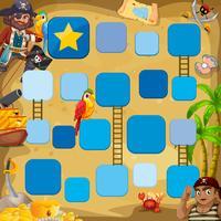 Piratenspiel vektor