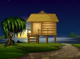 Haus und Sterne