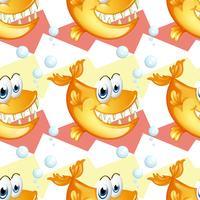 Große lächelnde Piranhas