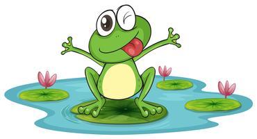 Frosch und Wasser vektor